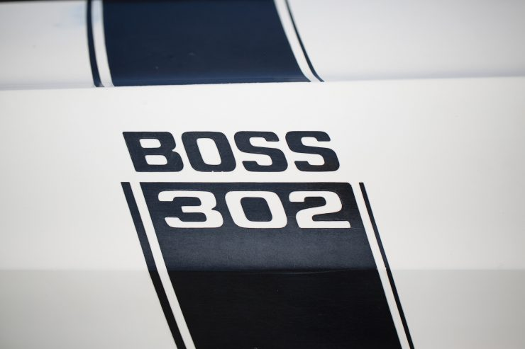 1970 Ford Mustang Boss 302 Badge