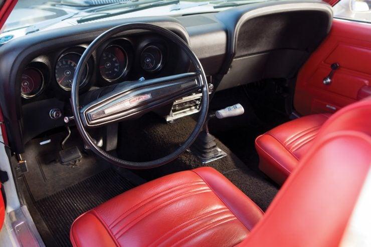 1970 Ford Mustang Boss 302 Cockpit