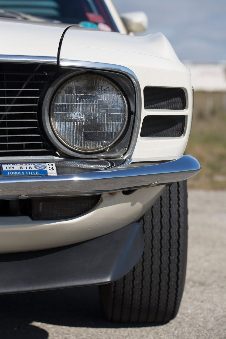 1970 Ford Mustang Boss 302 Headlight