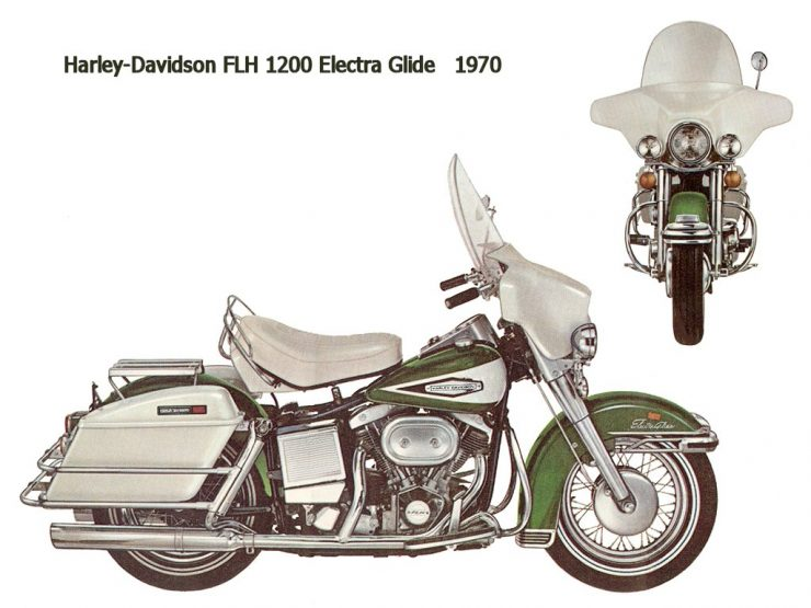 Harley-Davidson Shovelhead motorcycle