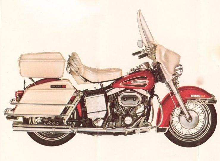 Harley-Davidson Shovelhead Electra Glide motorcycle