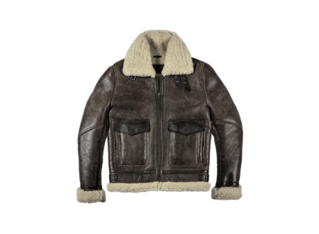 Helstons Bombardier Thunder Brown Jacket