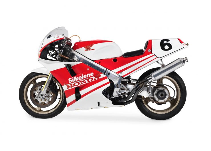 Honda VFR750R Type RC30 Racing Motorcycle