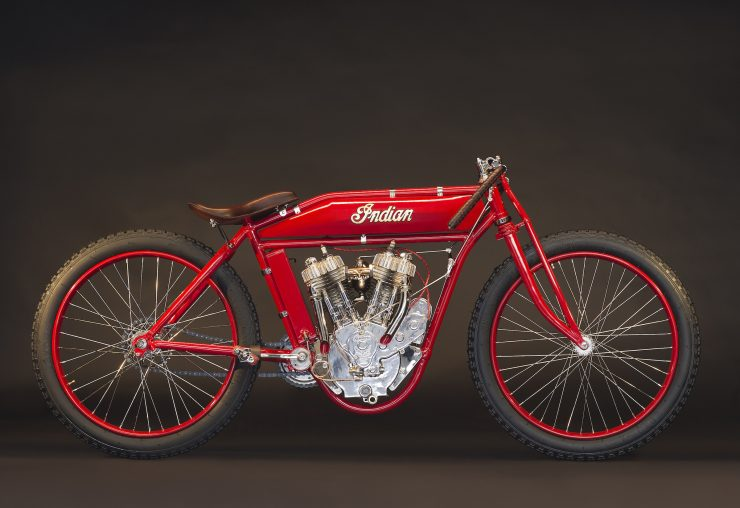 Indian Twin Board-Track Racer