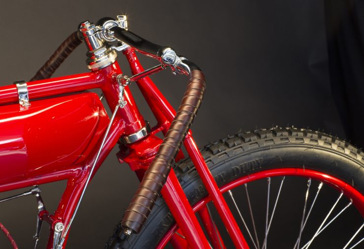 Indian Twin Board-Track Racer Handlebars