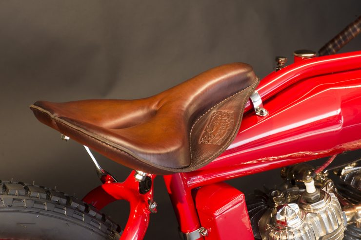 Indian Twin Board-Track Racer Seat