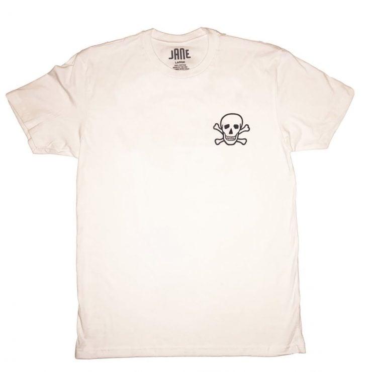 Jane Motorcycles Bowery Skull T-Shirt