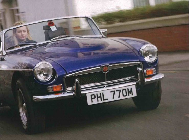 Ken Costello V8 MGB Roadster