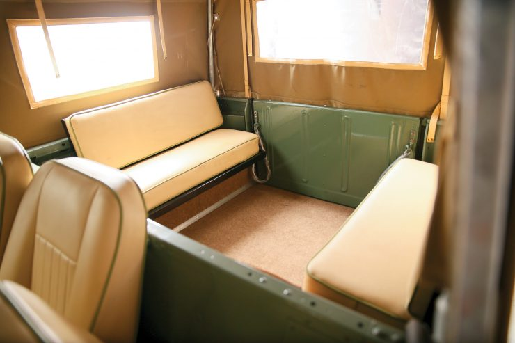 Land Rover Series III Seats