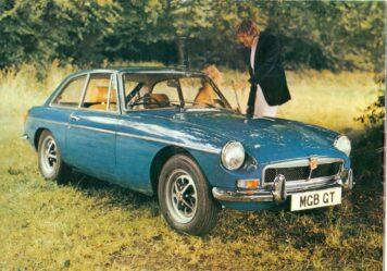 MGB GT Car 2