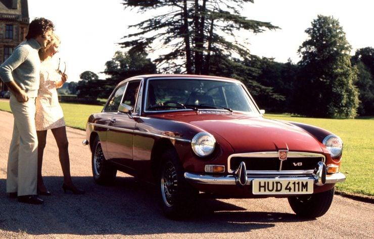 MGB GT Car
