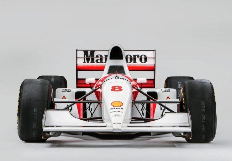 McLaren MP4/8 Formula 1 Car Front