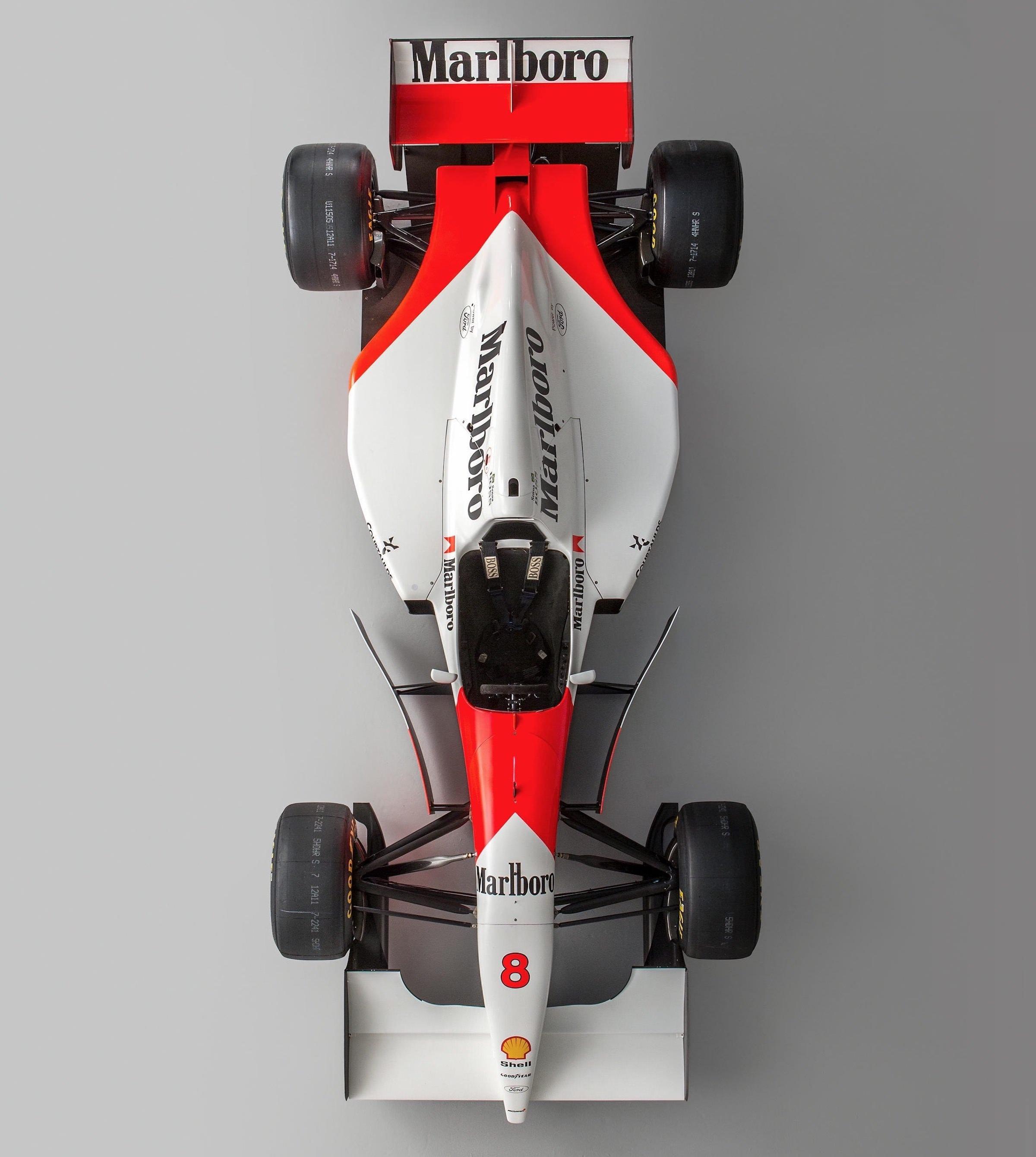 Ayrton Senna's Original 1993 McLaren MP4/8 Formula 1 Car
