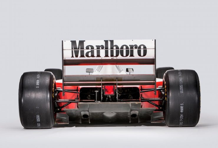 McLaren MP4/8 Formula 1 Car 1 Back