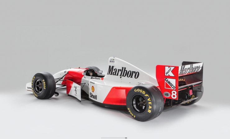 McLaren MP4/8 Formula 1 Car 1 Rear