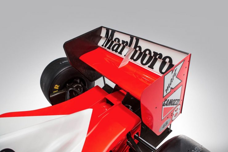 McLaren MP4/8 Formula 1 Car Rear Wing