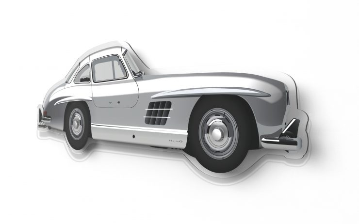 Mercedes 300 SL Wall Model