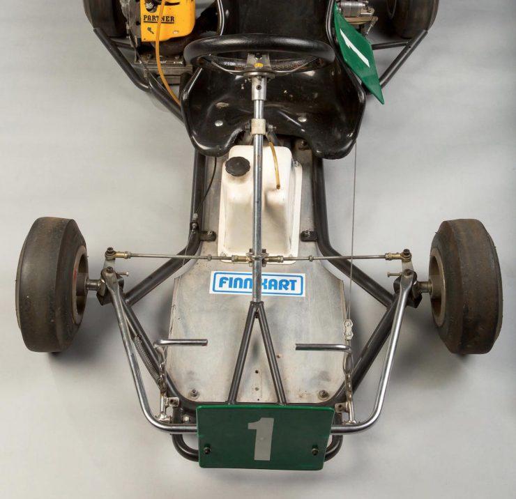 Mika Häkkinen 1982 Finnkart 85cc SF A1