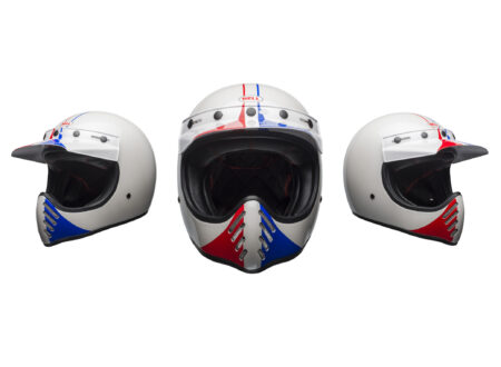 Bell Moto-3 Helmet - Ace Cafe GP 66