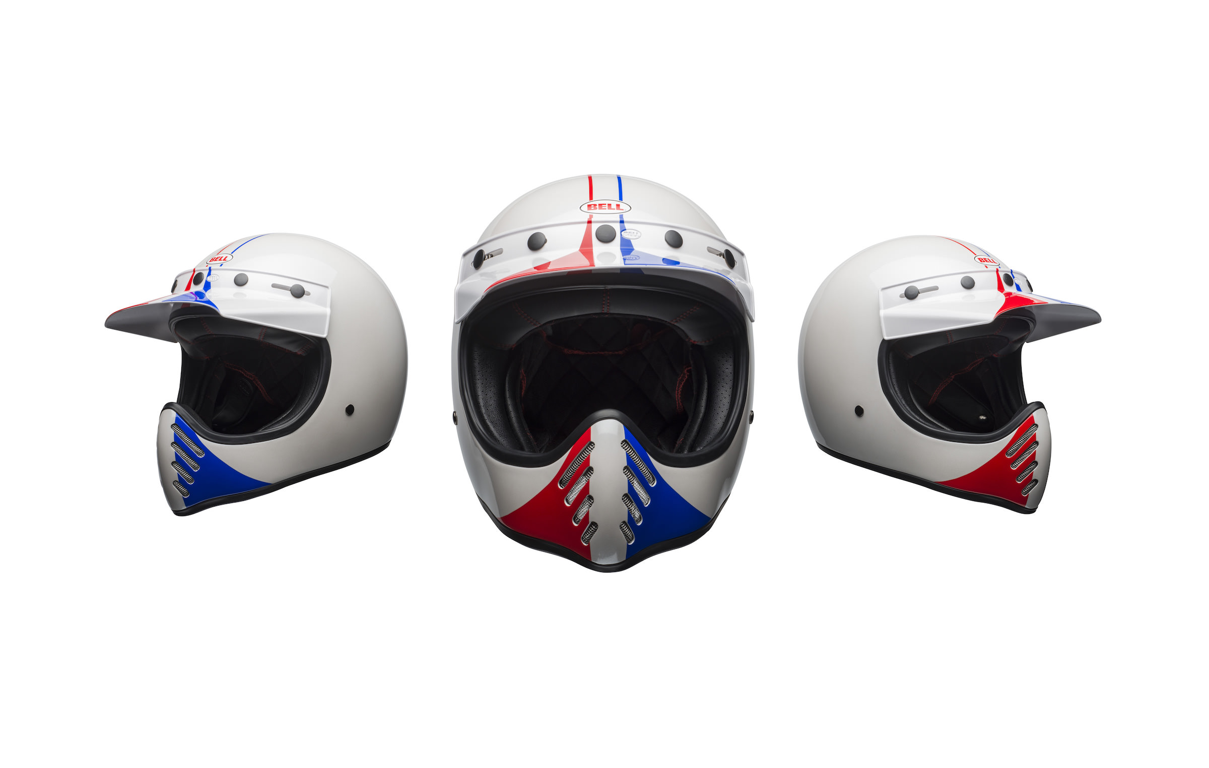 Bell Moto 3 Ace Cafe Gp 66 Helmet Modern Safety In A