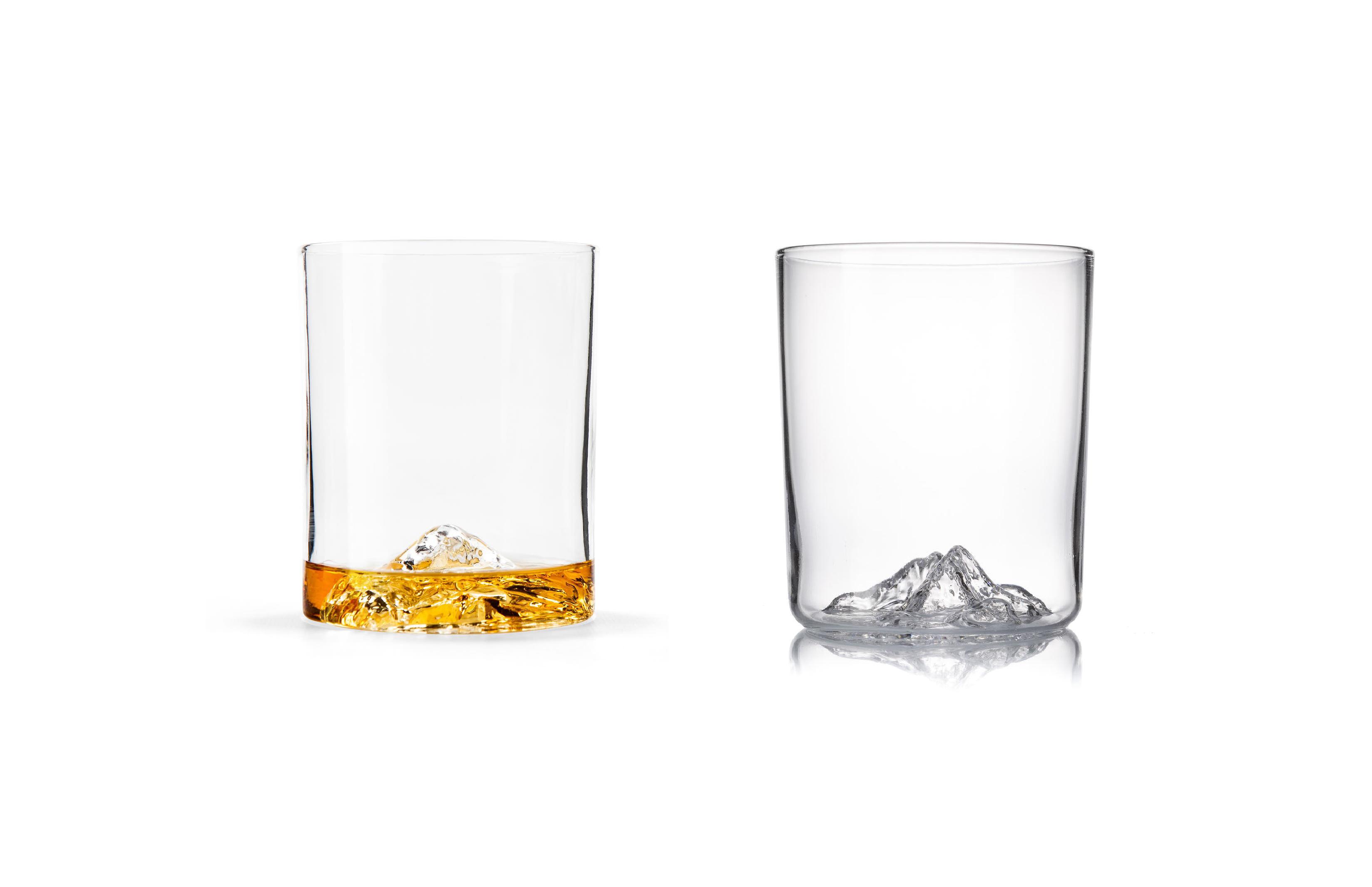 Mt. Everest Whiskey Glasses by Whiskey Peaks