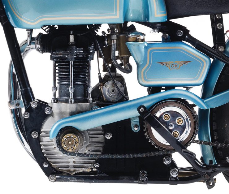 OK-Supreme Motorcycle Engine