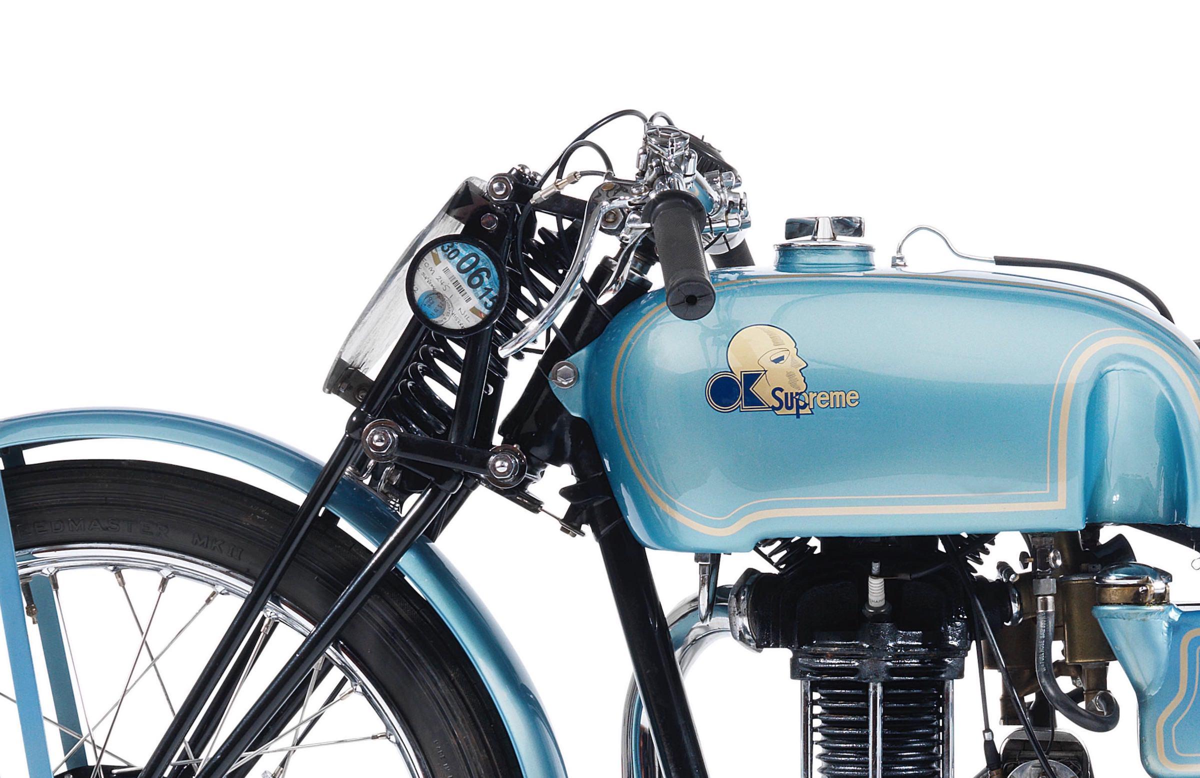 OK-Supreme Motorcycle Logo