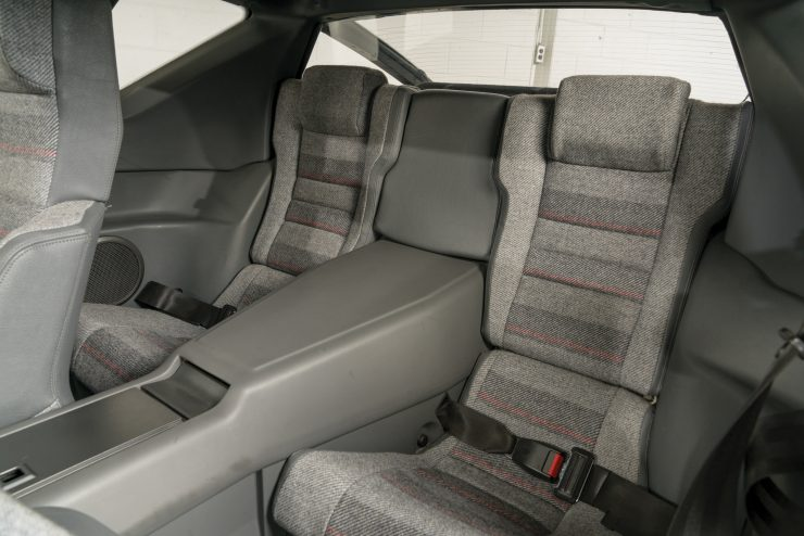 Renault Alpine GTA V6 Rear Seats