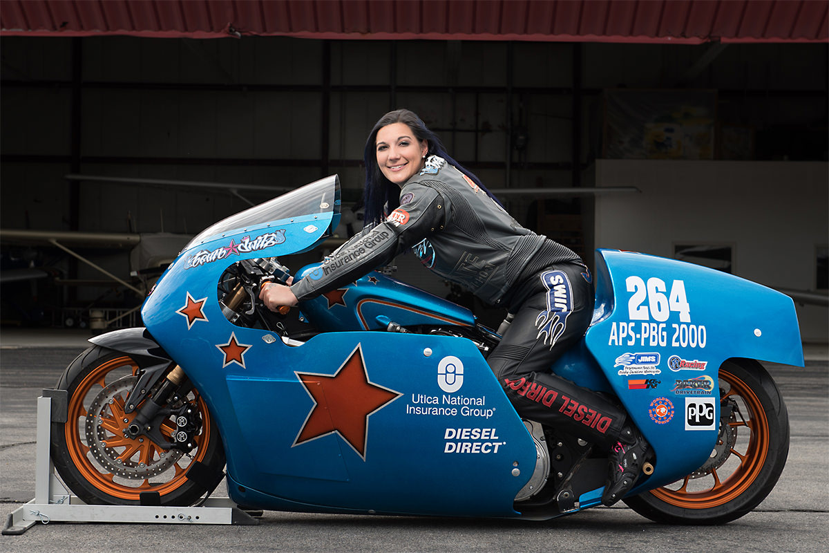 Shoot The Salt - The Fastest Woman On A V-Twin Jody Perewitz
