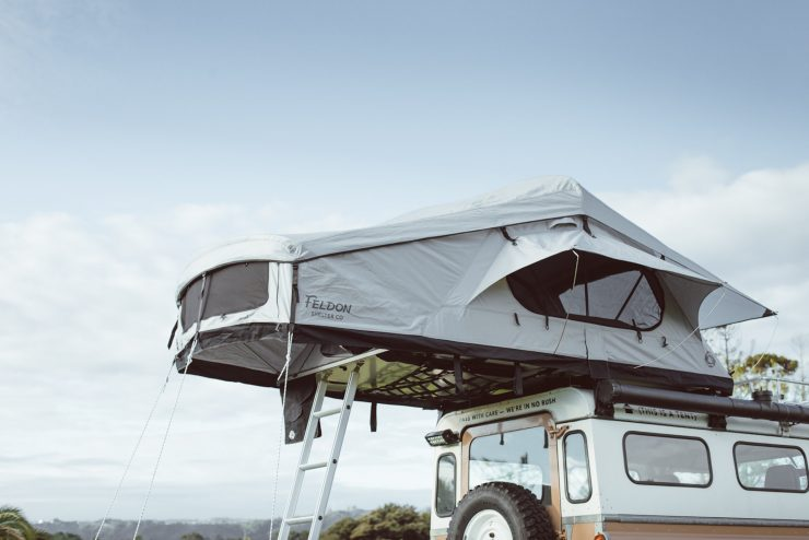 Crow's Nest Extended Rooftop Tent