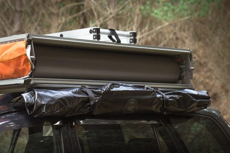 Crow's Nest Extended Rooftop Tent Feldon Shelter