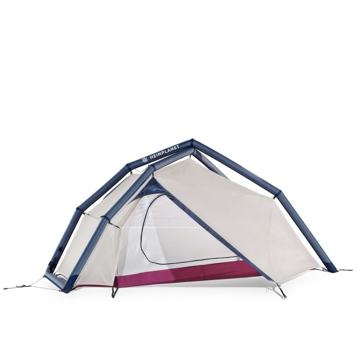 The Heimplanet Fistral 2-Person Geodesic Tent Open
