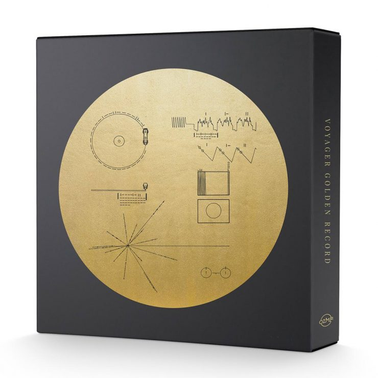 The Voyager Golden Record LP Box