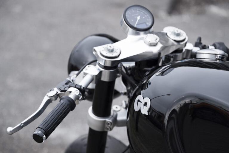 The GQ x Barbour x Untitled Motorcycles Triumph Thruxton 1200 R