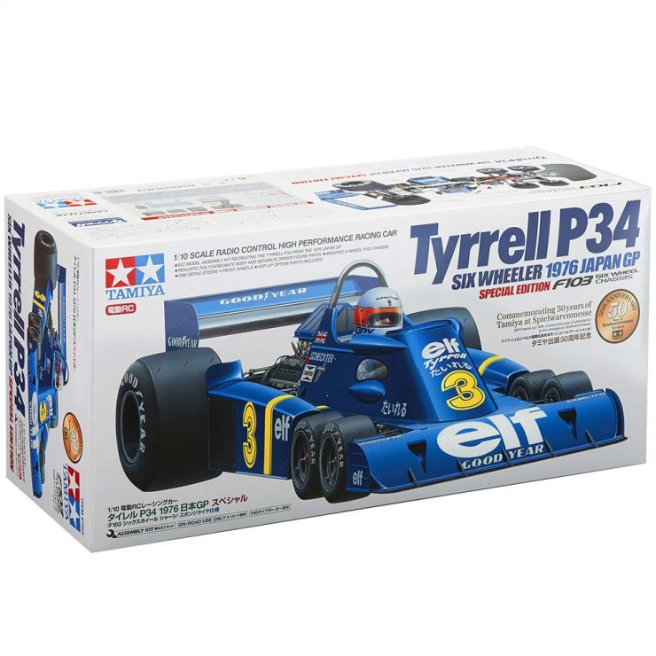 Tamiya Tyrrell P34 Six Wheeler