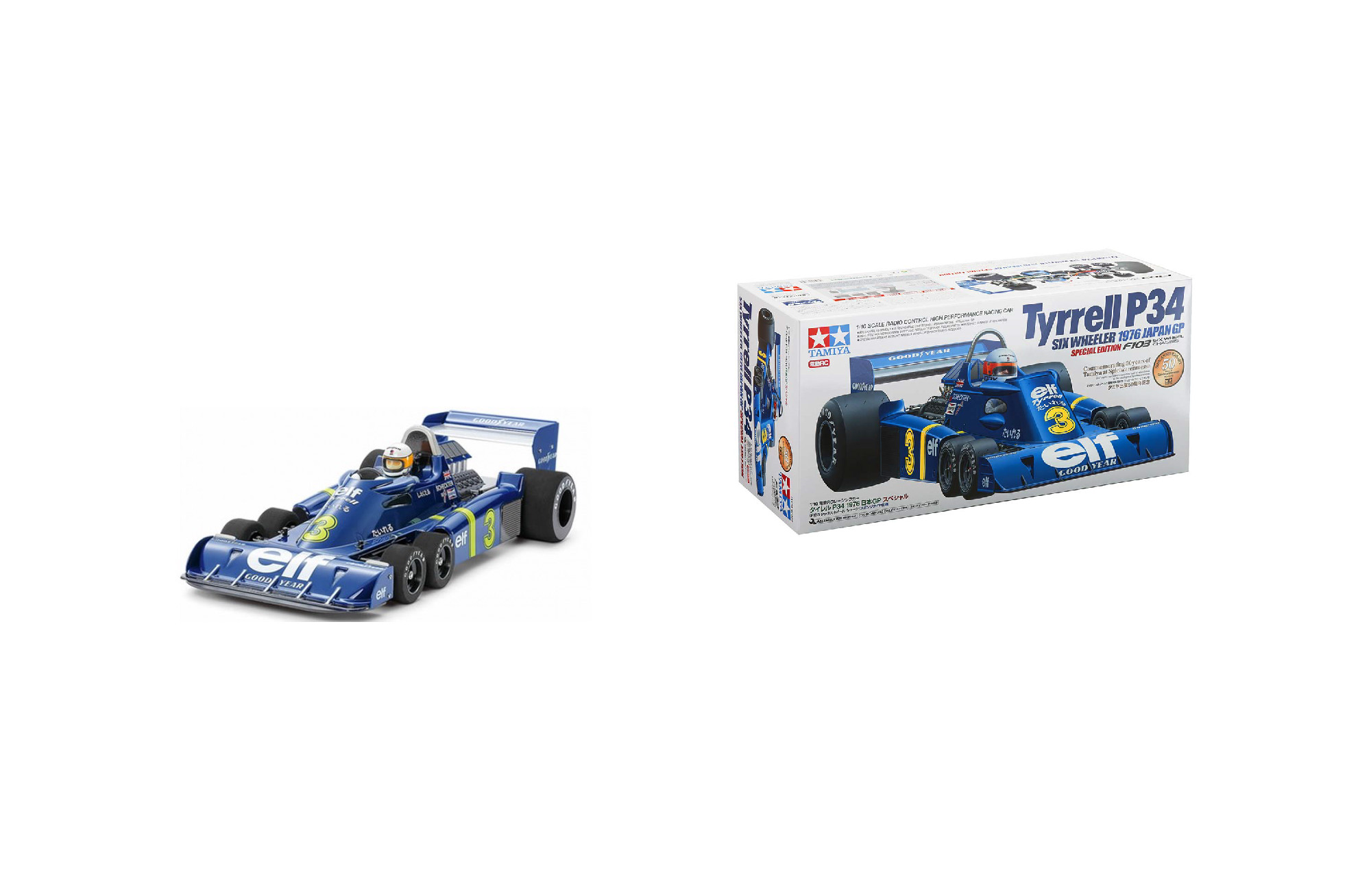 Remote Control: Tyrrell P34 Six Wheeler – 1976 Japan GP Edition