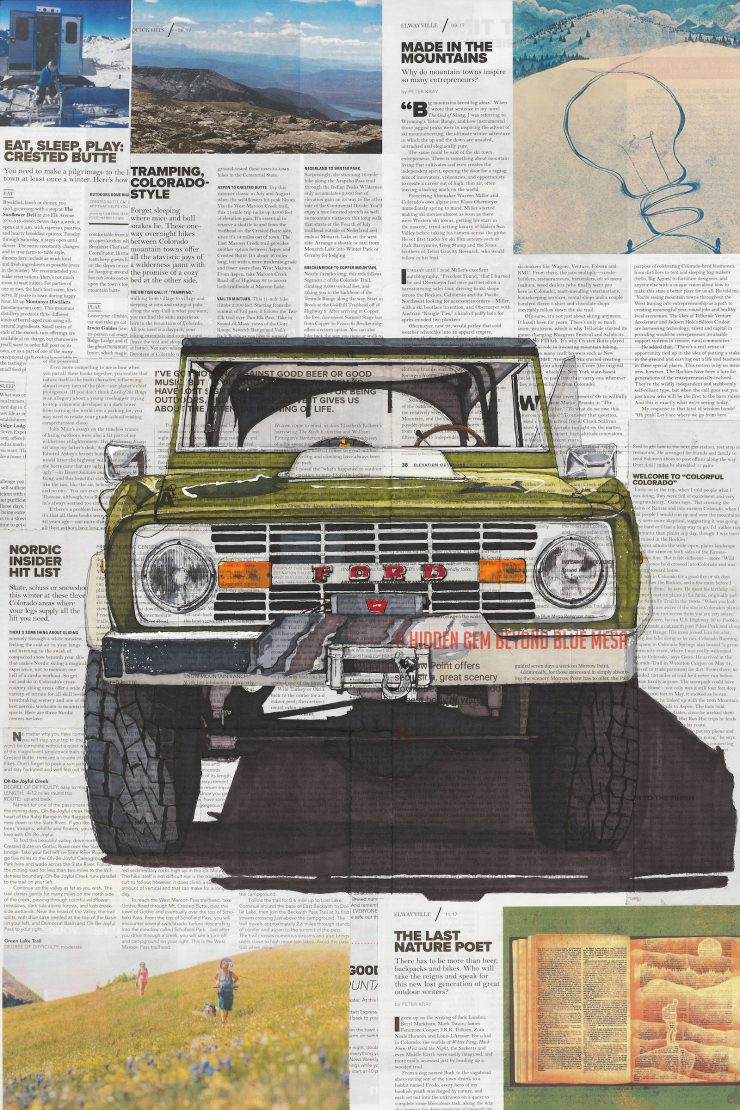 Art of Adam Ambro Ford Bronco 740x1110 - The Art of Adam Ambro