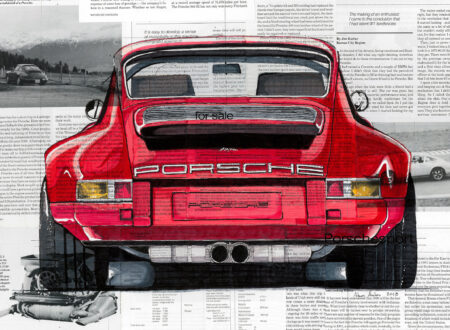 Art of Adam Ambro Porsche 911 Main