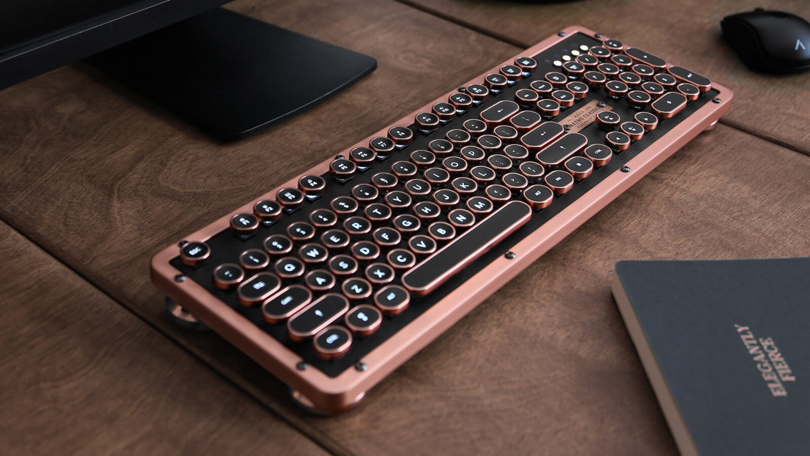 Azio Retro Classic - The Traditional Mechanical Computer Keyboard