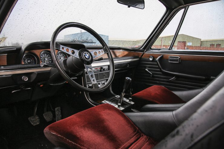 BMW 3.0 CSL Batmobile Interior