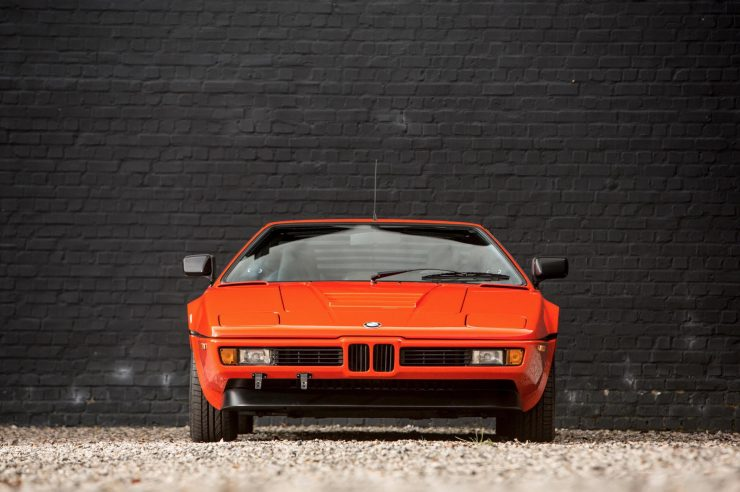 BMW M1 Car Front 1