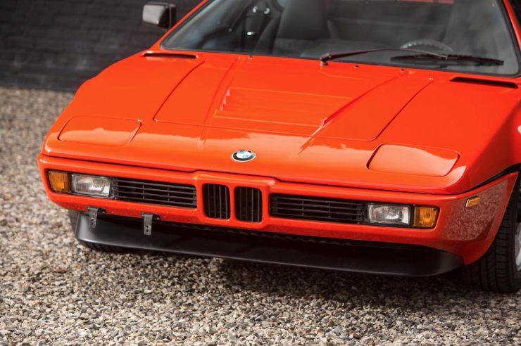 BMW M1 Car Front