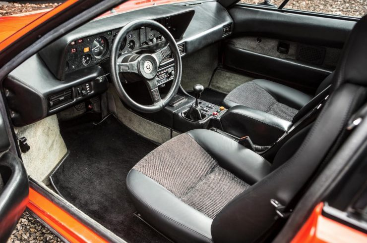 BMW M1 Car Interior 2