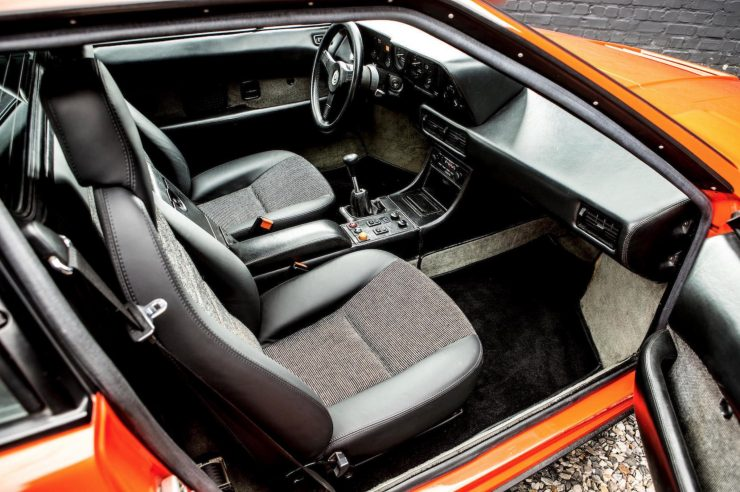 BMW M1 Car Interior