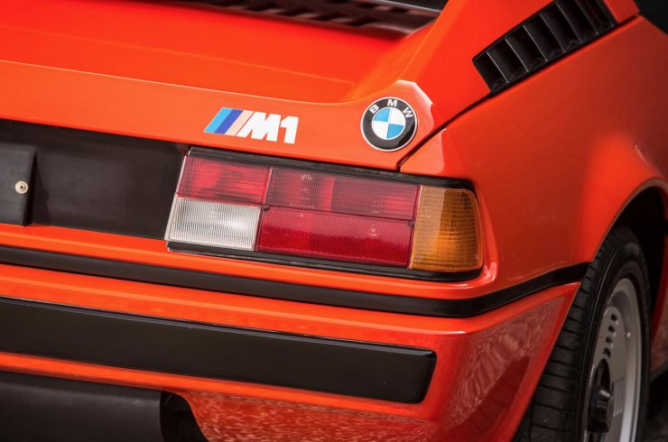 BMW M1 Car Rear Light