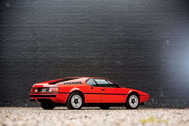 BMW M1 Car Rear Side