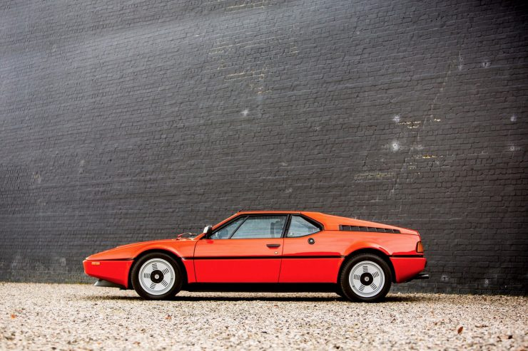 BMW M1 Car Side