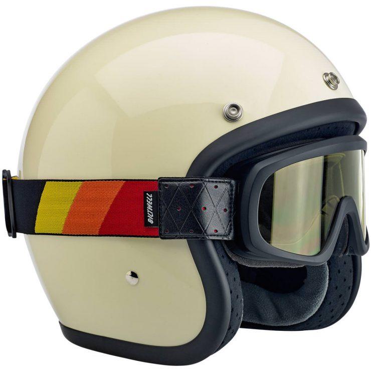 Biltwell Overland 2.0 Goggles Motorcycle Helmet