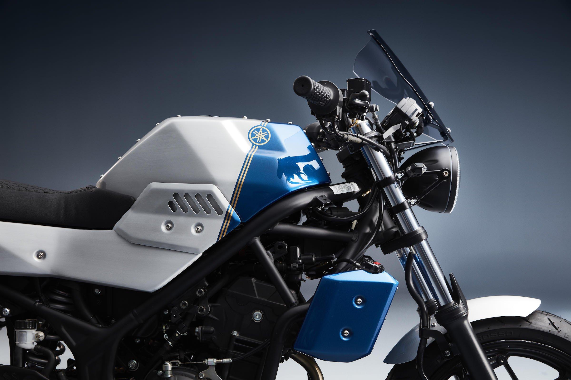 Custom Welding Helmets >> The Bunker Customs Janus Full Body Kit For The Yamaha MT ...
