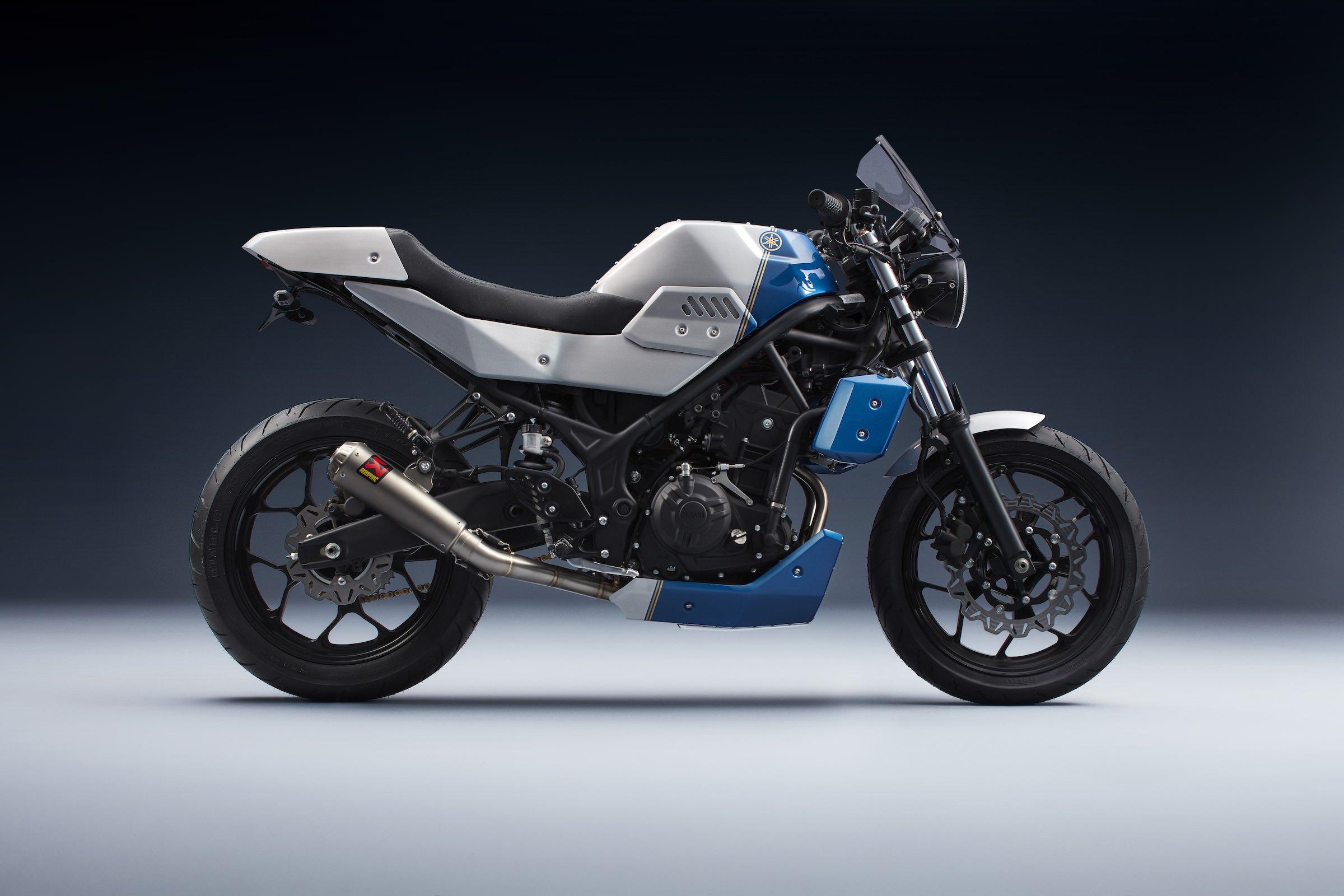 Motor Sport Yamaha Mt25 T Prospeed Mf Series Honda Sonic150r Bunker Customs Janus Full Body Kit For The Mt 25 And